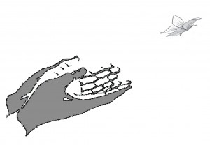 hand.butterfly